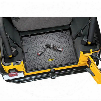 Bestop Rear Cargo Liner (black) - 51512-01