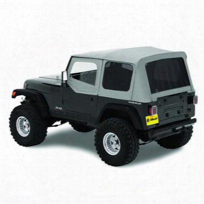 Bestop Replace-a-top W/ Tinted Windows Charcoal - Jeep Soft Tops
