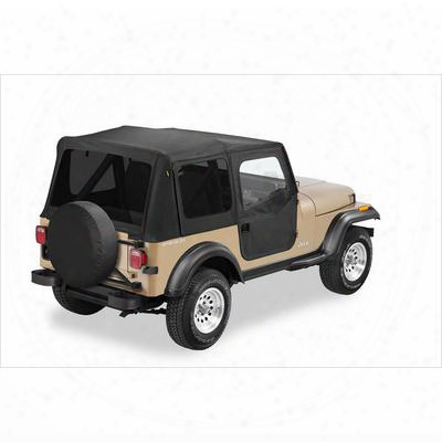 Bestop Replace-a-top W/ Tinted Windows In Black Denim - Jeep Soft Tops