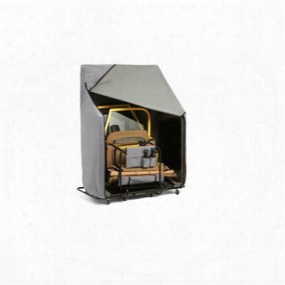 Bestop Rolling Door Storage Cart With Charcoal Cover - 42814-01