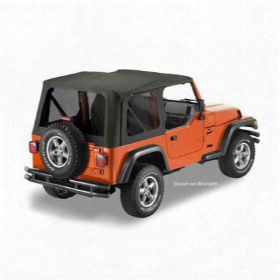 Bestop Sailcloth Replace-a-top No Doors 79140-35 Jeep Lj Soft Top