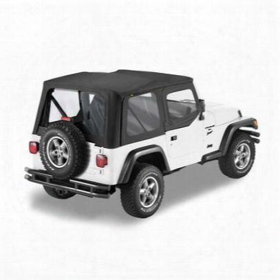 Bestop Sailcloth Replace-a-top, Upper Half Door Skins - Jeep Soft Tops