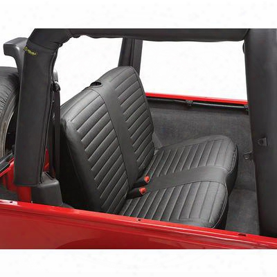Bestop Tj Rear Seat Cover (black Denim) - 29221-15