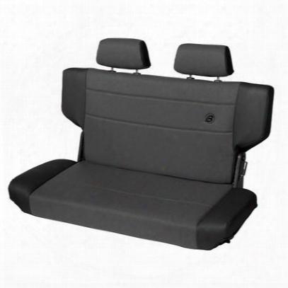 Bestop Trailmax Ii Fold And Tumble Rear Seat (black) - 39439-15