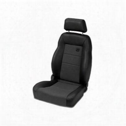 Bestop Trailmax Ii Pro Recliner Front Seat (black) - 39460-115