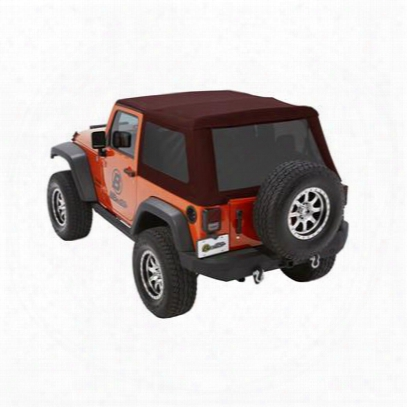 Bestop Trektop Nx Glide Soft Top With Tinted Windows (crushed Red Pepper) - 54922-68