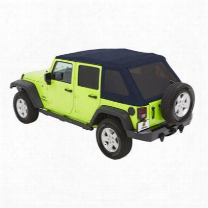 Bestop Trektop Nx Glide Soft Top With Tinted Windows (navy Blue) - 54923-69
