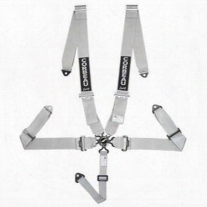 Corbeau 3 Inch 5-point Harness Belt Bolt-in (silver) - 53009b