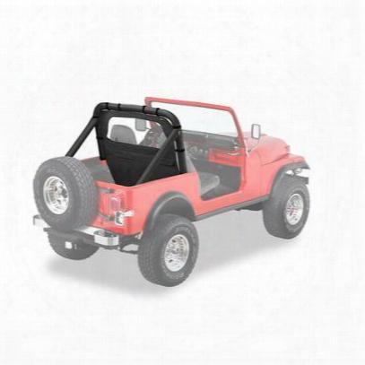 Jeep Bestop Windjammer Black Denim 80028-15 Windjammers & Screens