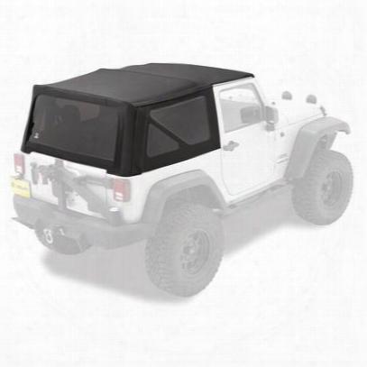 Jeep Soft Top - Bestop Replace-a-top Window Tint Matte Black 79841-17