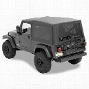 Bestop Supertop NX Tinted Windows, Black, 54721-35 - Jeep Soft Tops