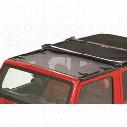 Bestop Targa Style Sun Bikini Top (Black Mesh) - 52403-11