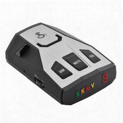 Cobra Rad350 Radar Detector With Case - Cob0180001-1