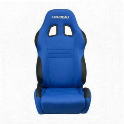 Corbeau A4 Race Reclining Front Seat (blue) - 60095pr