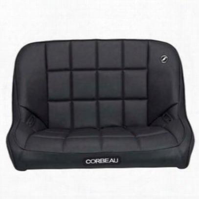 Corbeau Baja 36 Inch Rear Bench Suspension Seat (black) - 63401
