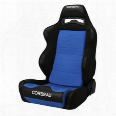 Corbeau Legacy Recliner Front Seat (black/ Blue) - 25505pr