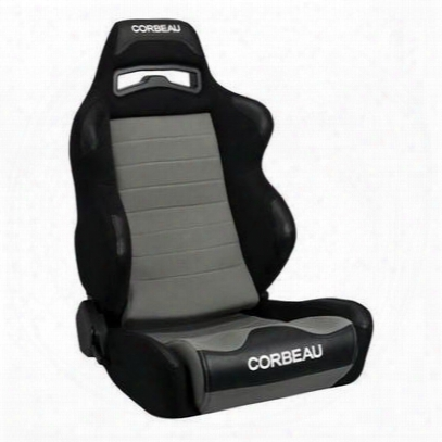 Corbeau Legacy Recliner Front Seat (black/ Gray) - 25509pr