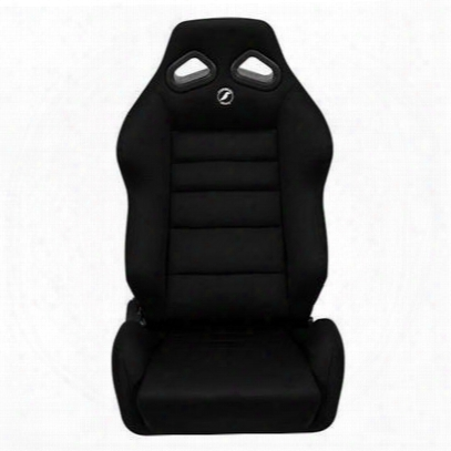 Corbeau Targa Racing Recliner Front Seat Wide Version (black) - 20801wpr