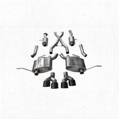 Corsa Performance Exhaust Cat Back Exhaust - Cor14992blk