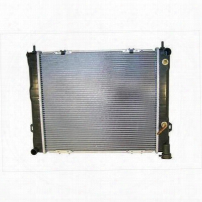 Crown Automotive Replacement Radiator For 4.0l 6 Cylinder Engine With Automatic Transmission - 4734103