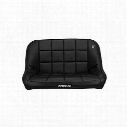 Corbeau Baja 42 Inch Rear Bench Suspension Seat (Black) - 64401