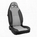 Corbeau Moab Recliner Front Seat (Black/ Charcoal) - 70019PR