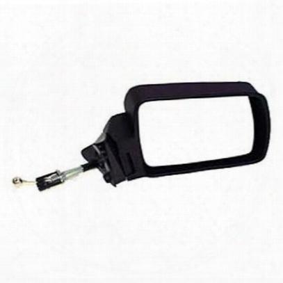 Crown Automotive Exterior Mirror (black) - 55034122