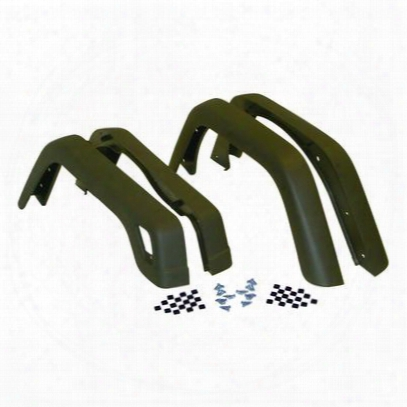 Crown Automotive Fender Flare Kit (paintable) - 55254918k
