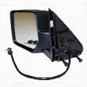 Crown Automotive Replacement Door Mirror (Black) - 57010187AC