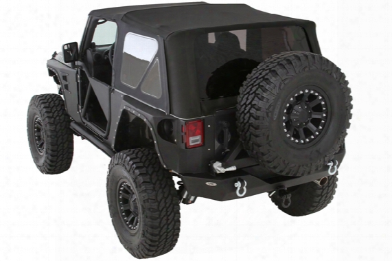 1997-2017 Jeep Wrangler Smittybilt Premium Replacement Canvas Soft Top