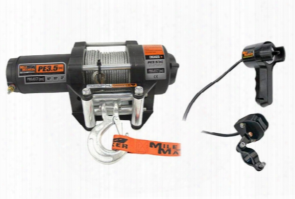 Mile Marker Pe3.5 Es Waterproof Electric Winch