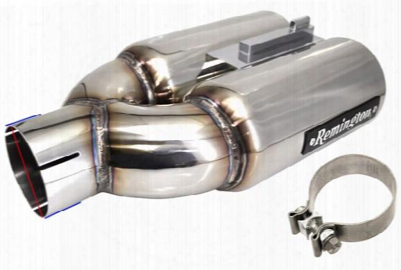Remington Exhaust Tips Mt-rm-02ss-4rem Double Barrel