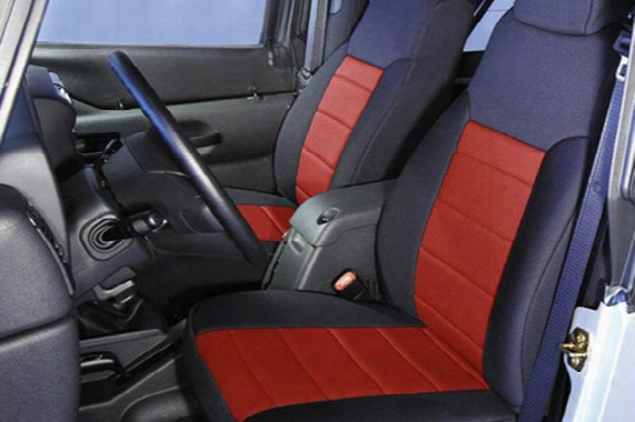 Rugged Ridge Neoprene Seat Covers - Rugged Ridge Neoprene Jeep Wrangler Seat Cover