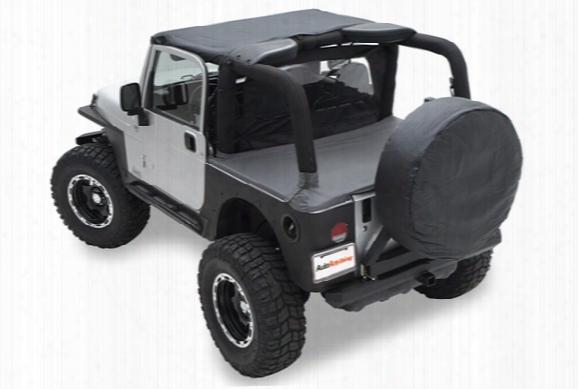 1987-2017 Jeep Wrangler Smittybilt Tonneau Cover