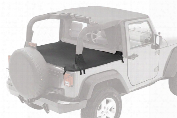 1991 Jeep Wrangler Bestop Duster Deck Cover 90003-01 Duster Deck Cover With Supertop Bows Folded Down