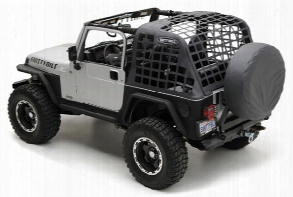 Smittybilt C.res Jeep Cargo Net - Smittybilt Cargo Restraint System - Jeep Covers & Accessories