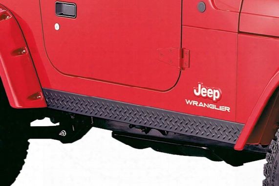 2002 Jeep Wrangler Bushwacker Trail Armor Rocker Panels