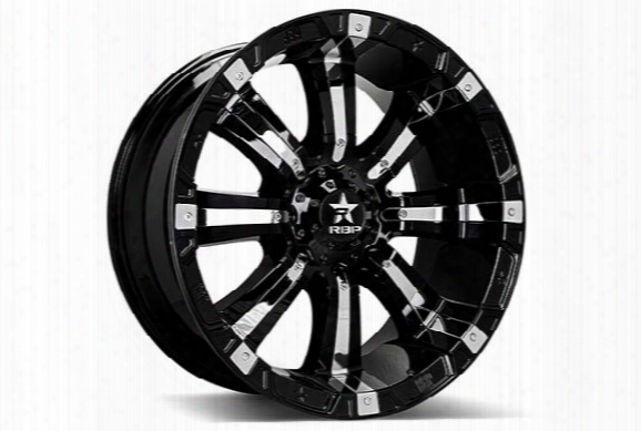 Rbp 94r Black & Chrome Wheels