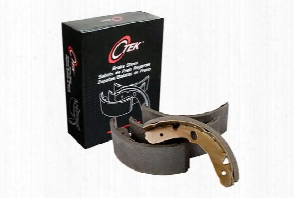 2002 Toyota 4runner Centric C-tek Standard Brake Shoes 110.07640