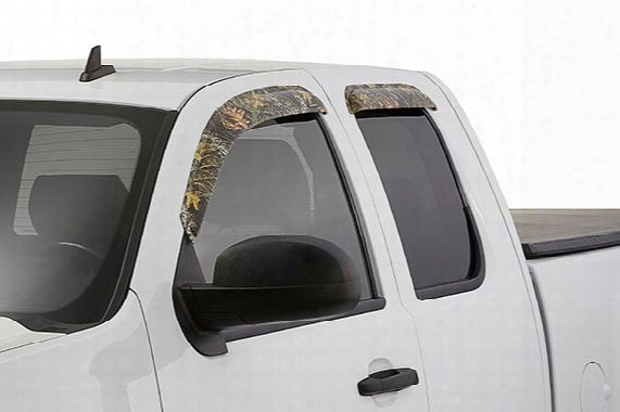 2003 Chevy Silverado Stampede Tape-onz Camo Side Window Deflectors