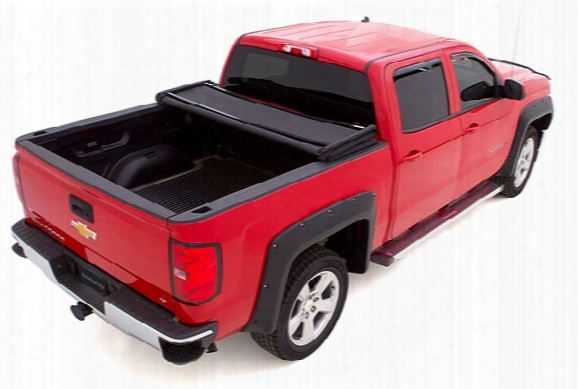 2004 Chevy Colorado Lund Genesis Elite Tri-fold Tonneau Cover