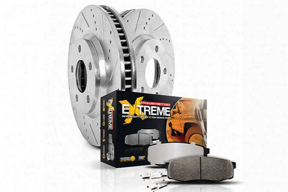 2006 Honda Ridgeline Power Stop Truck & Tow Brake Kit