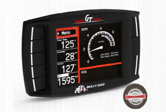 Bully Dog Triple Dog Gt Tuner (50-state Legal) - Bully Dog Gas & Diesel Gt Tuners