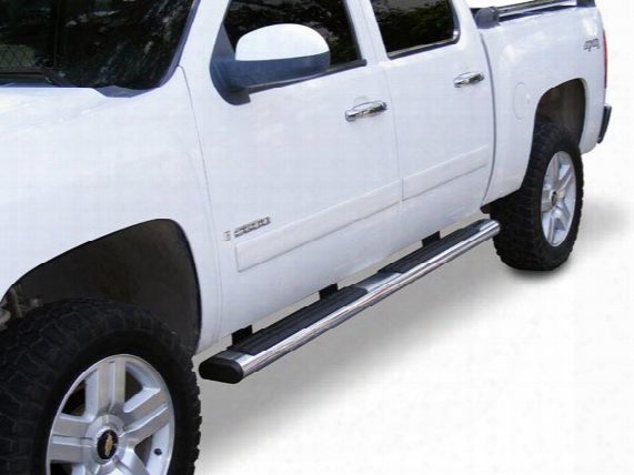 "2013 Chevy Silverado Go Rhino 6"" Oval Nerf Bars 660057ps/6840455 6"" Oval Nerf Bars"