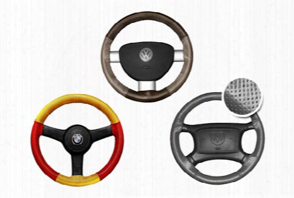 Wheelskins Europerf Perforated Leather Steering Wheel Covers - Steering Wheel Cover