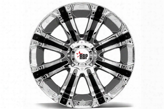 2006 Jeep Wrangler Rbp 94r Chrome & Black Wheels 94r-1790-66-12c