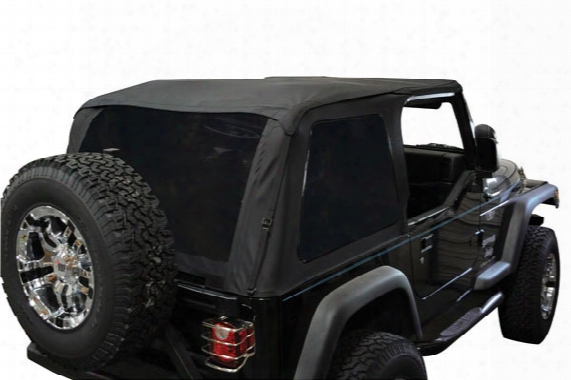 Rampage Frameless Jeep Soft Top - Rampage Frameless Soft Top For Jeeps