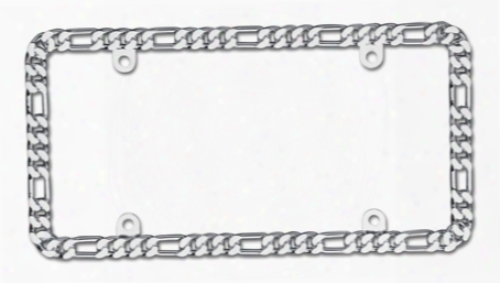 Cruiser Accessories Accent License Plate Frames 18330 Spinner Chain