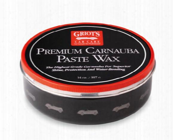 Griot's Garage Premium Carnauba Paste Wax 11029