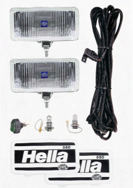 Hella 550 Light Kit 005700901 Fog Lamp Kit